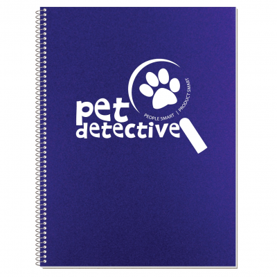 "Econo Poly Cover Stenographer Notebook (8 3/16""x10 7/8"")"