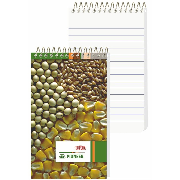 "2 7/8""x4 3/4"" Econo Pocket Coil Notebook - 4 Color Process"