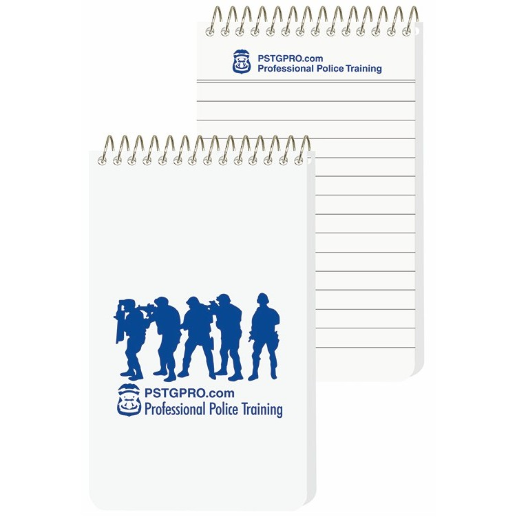 "2 7/8""x4 3/4"" Imprinted Sheet Notebooks"