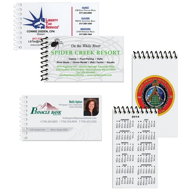 "2""x3 1/2"" Business Card Notebooks"