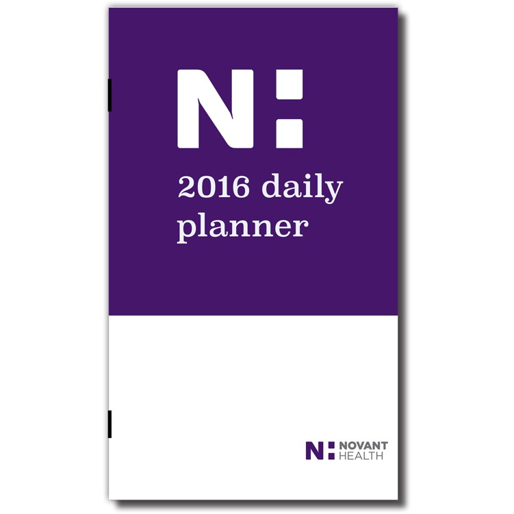 "3 5/8""x6 1/4"" Full Color Monthly Pocket Planner"