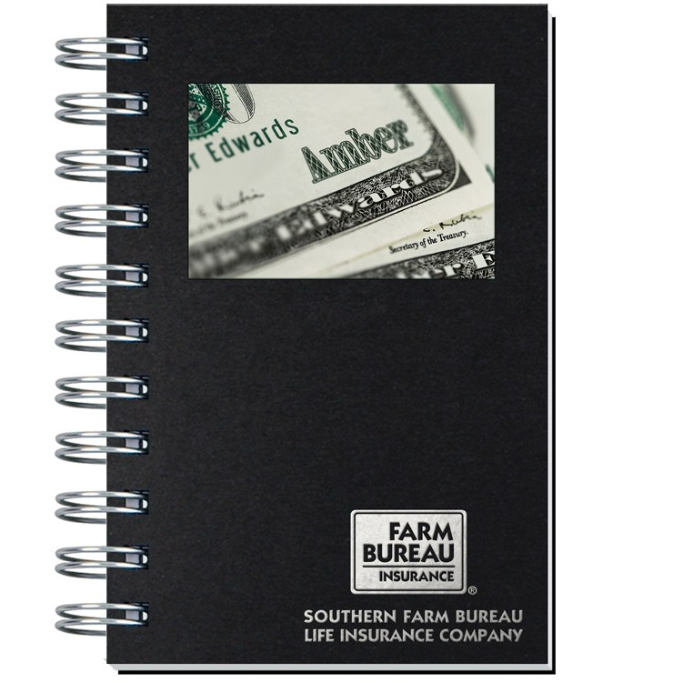 """4""""x6"""" Personalized Image Shadowbox Journals w/ 100 Sheets"""