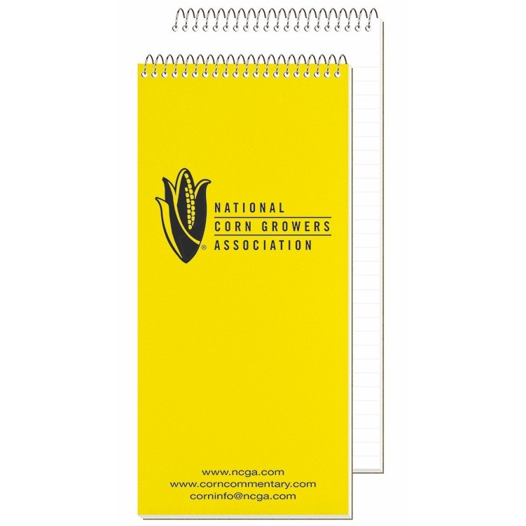 "4""x8 1/4"" Econo Poly Cover Reporter Notebook"