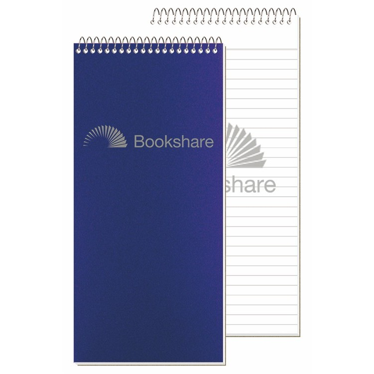 "4""x8 1/4"" Poly Cover Poly Reporter Notebook"
