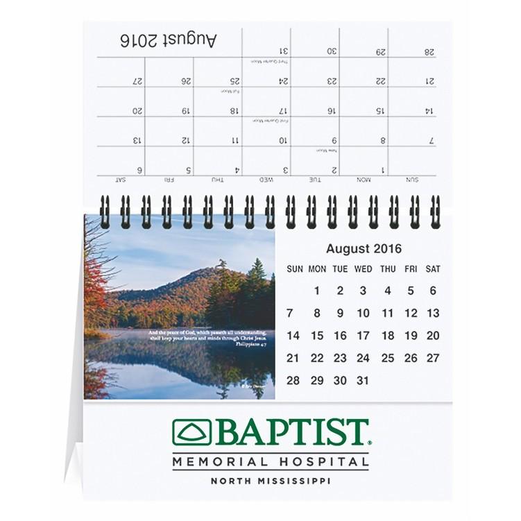 "5 13/16""x4 1/2"" Bible Verses Tent Desk Calendar"