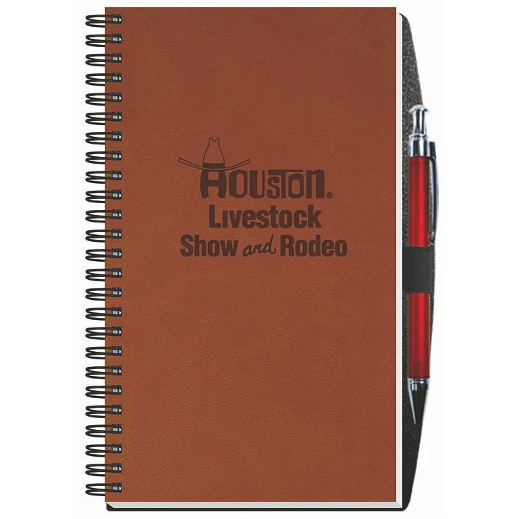"5 1/4""x8 1/4"" Executive Journals - 50 Sheets w/ Pen"