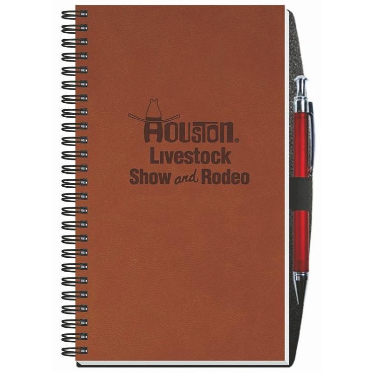 "5 1/4""x8 1/4"" Executive Journals - 50 Sheets w/ Pen"
