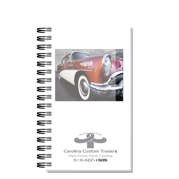 "5 1/4""x8 1/4"" Personalized Image Journals w/ 100 Sheets"