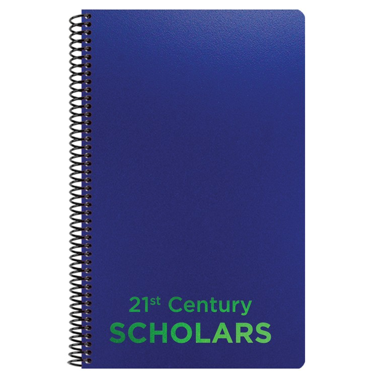 "5 1/4""x8 1/4"" Poly Cover Academic Weekly Planner"