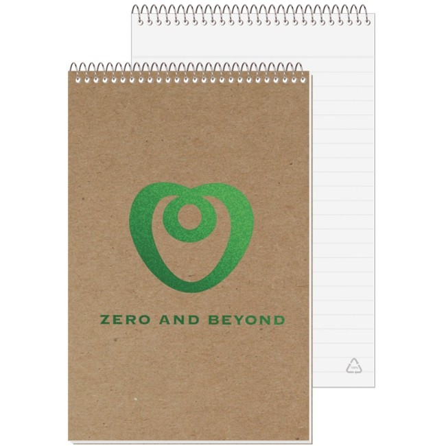 "5 3/8""x8 1/4"" Recycled Stenographer Notebook"