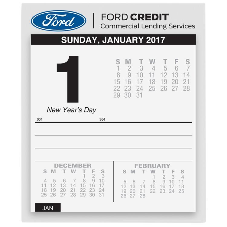 "5""x6"" Daily Desk Calendars"