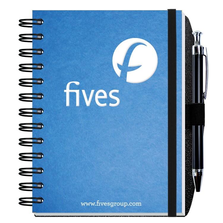 """5""""x7"""" Impression Journals w/ Pen Safe Loop"""