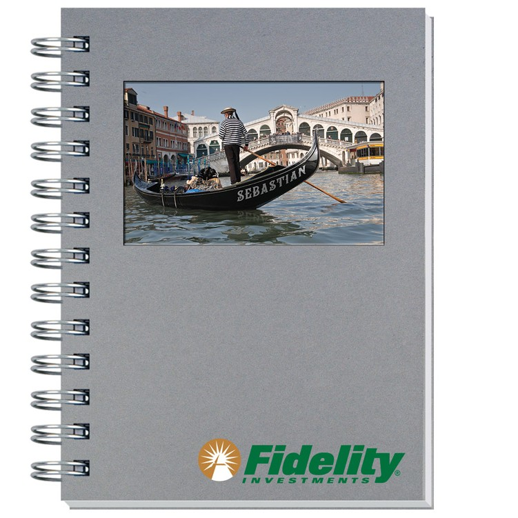 """5""""x7"""" Personalized Image Shadowbox Journals w/ 100 Sheets"""