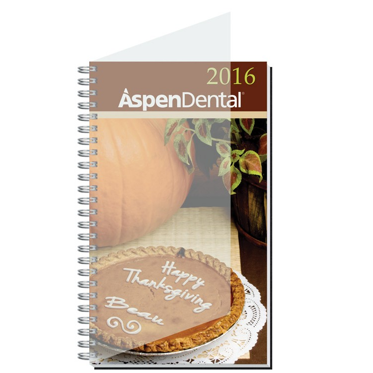 """5""""x8"""" Personalized Image Time Managers Calendars"""