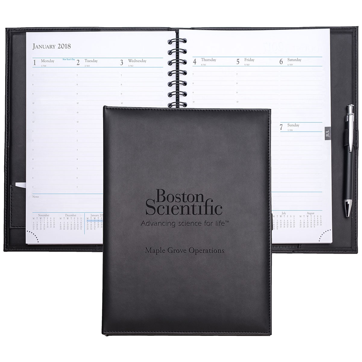 7 7/8 x 10 3/4 Hamilton Time Managers Planner