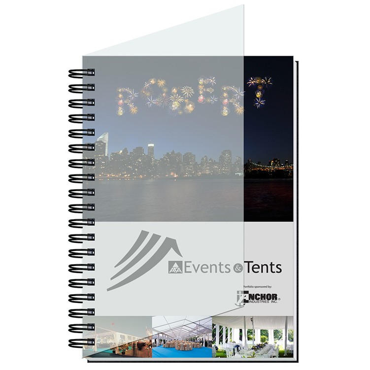 """7""""x10"""" Personalized Image Journals w/ 100 Sheets"""