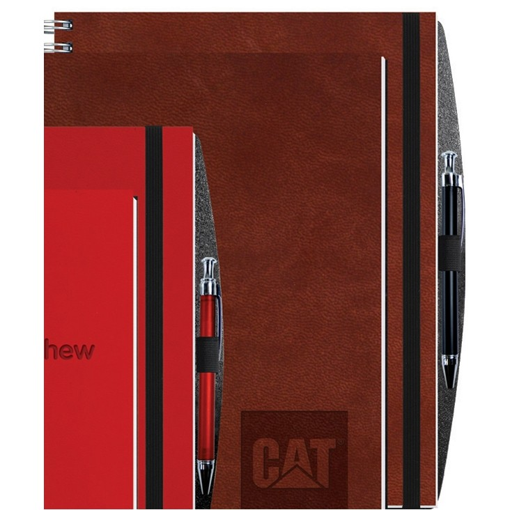 "8 1/2""x11"" Executive Journals - 100 Sheets w/ Pen"