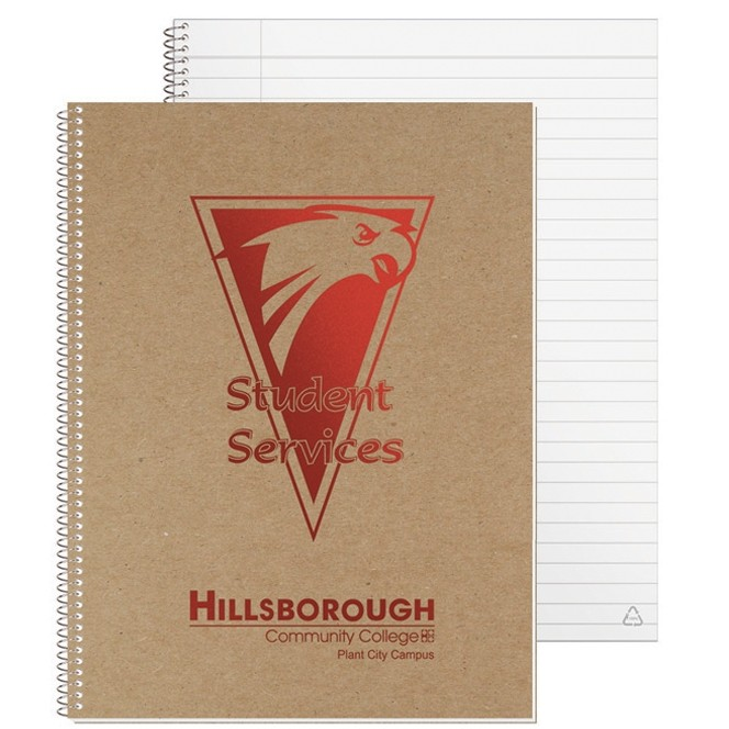 "8 3/16""x10 7/8"" Recycled Composition Notebook"