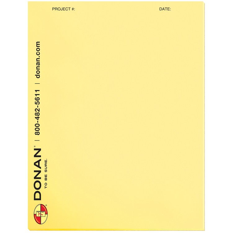 """8 3/8""""x10 7/8"""" Pastel Colors Scratch Pads w/ 25 Sheets"""