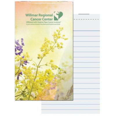 Top Stapled Memo Books (Full Color)
