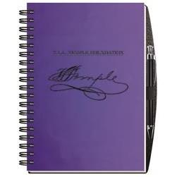 """7""""x 10"""" Radiant Journal - Pen Safe w/100 Sheets"""