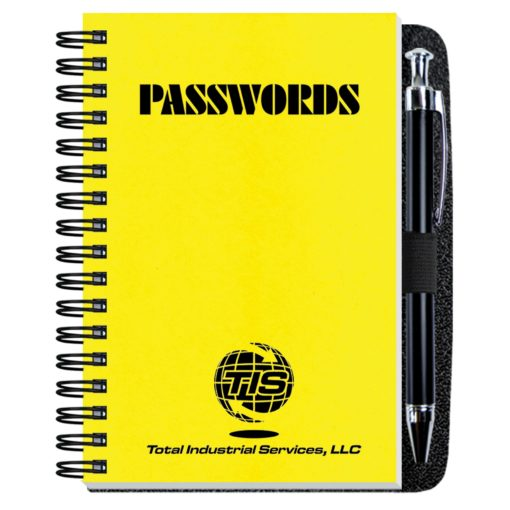 "4""x6""Password Keeper w/ Pen Safe"