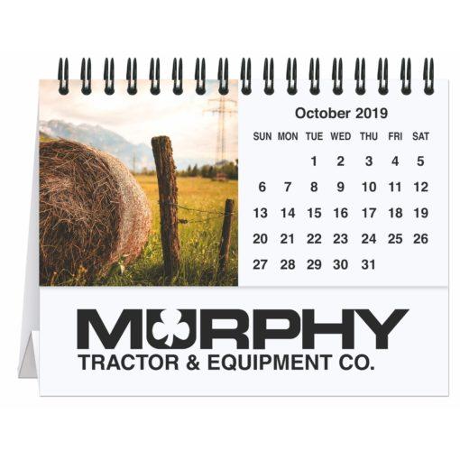 "5 13/16"" x 4 1/2"" Agriculture Tent Desk Calendar"