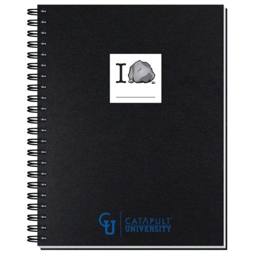 "8 1/2""x11"" Shadowbox Journals w/ 50 Sheets"