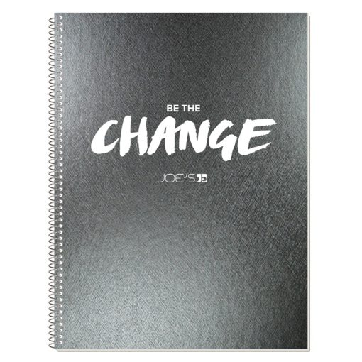 "8 3/16""x10 7/8"" Metallic Composition Notebook"