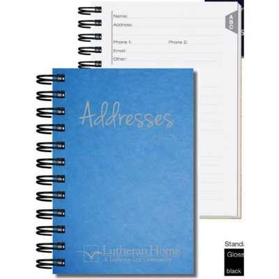 "Address Book w/Pen Safe (4""x6"")"