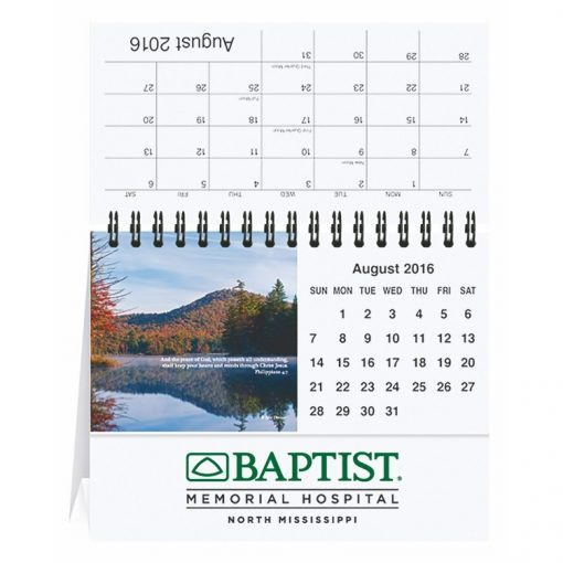 "Bible Verses Tent Desk Calendar (5 13/16""x4 1/2"")"