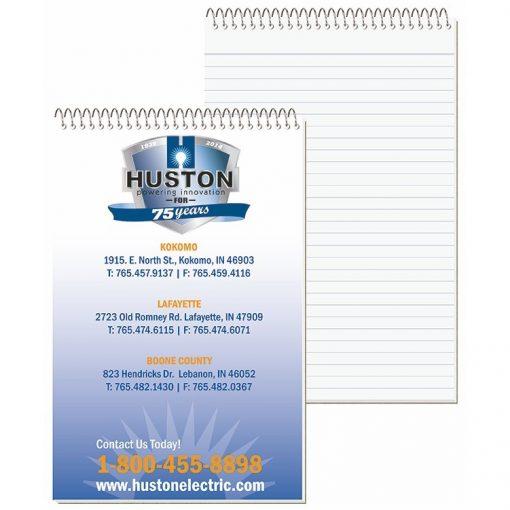 "Econo Stenographer Notebook w/4 Color Process (5 3/8""x8 1/4"")"