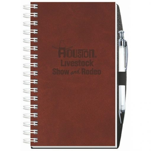 "Executive Journals w/100 Sheets & Pen (5 1/4""x8 1/4"")"