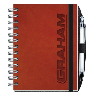 "Executive Journals w/100 Sheets & Pen (5""x7"")"