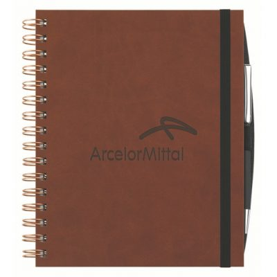 "Executive Journals w/100 Sheets & Pen (6 1/2""x8 1/2"")"
