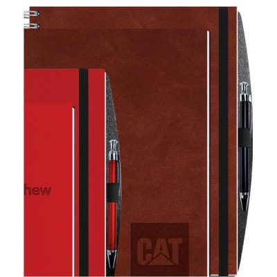 "Executive Journals w/100 Sheets & Pen (8 1/2""x11"")"
