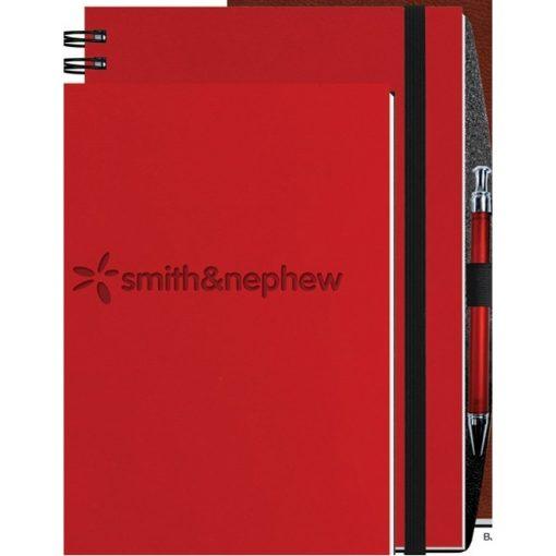 "Executive Journals w/50 Sheets & Pen (8 1/2""x11"")"