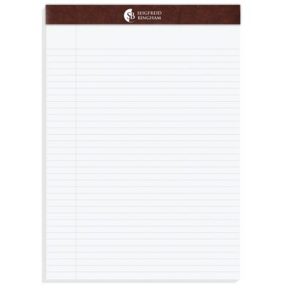 "Executive Legal Pads (8 1/2""x11 3/4"")"