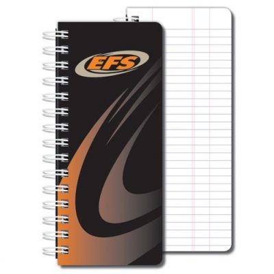"Full Color Pipe Tally Books (3 1/4""x7 7/8"")"