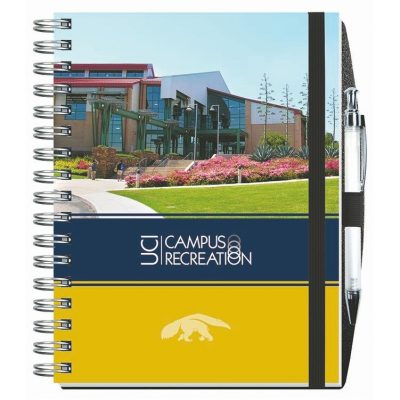 """Gloss Cover Journals w/100 Sheets & Pen (6 1/2""""x8 1/2"""")"""
