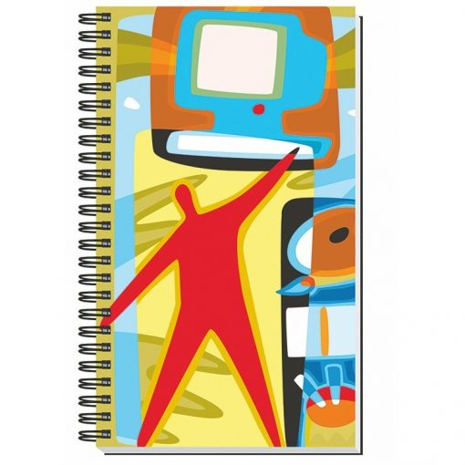 """Gloss Cover Journals w/50 Sheets (5 1/4""""X8 1/4"""")"""
