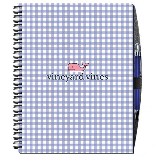 "Gloss Cover Journals w/50 Sheets & Pen (8 1/2""x11"")"