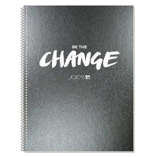"Metallic Composition Notebook (8 3/16""x10 7/8"")"