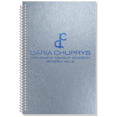 "Metallic Stenographer Notebook (5 3/8""x8 1/4"")"