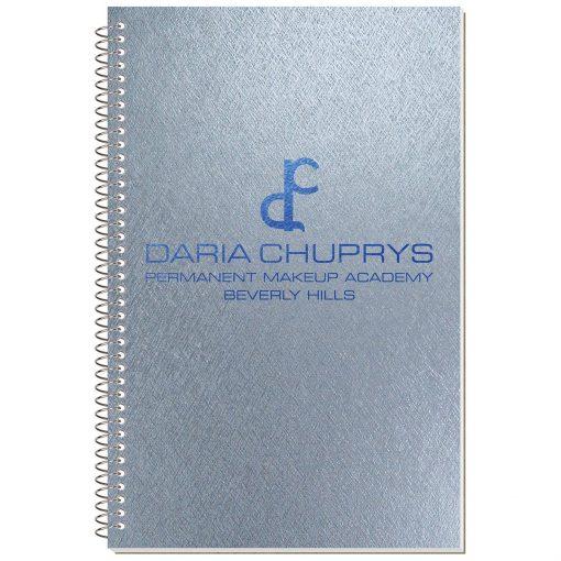 "Metallic Stenographer Notebook (5 3/8""x8 1/4"")"