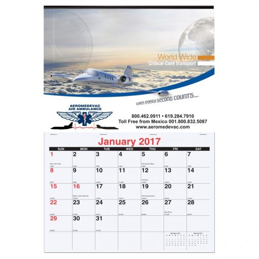 """Monthly Wall Calendars (12""""x17 3/8"""")"""