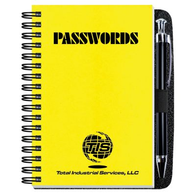 "Password Keeper w/Pen Safe (4""x6"")"