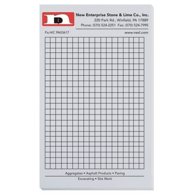 "Pastel Colors Scratch Pads w/ 100 Sheets (4 1/8""x6 3/4"")"