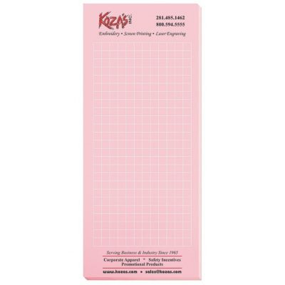 "Pastel Colors Scratch Pads w/ 50 Sheets (3 1/2""x8 3/8"")"