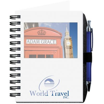 "Personalized Image Journals w/100 Sheets & Pen (5""x7"")"